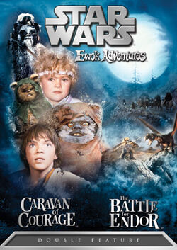 Star Wars Ewok Adventures DVD cover