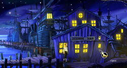 The Secret of Monkey Island Special Edition SCUMM Bar