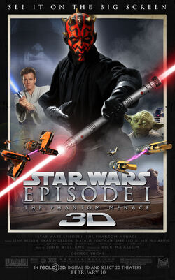 The Phantom Menace 3D