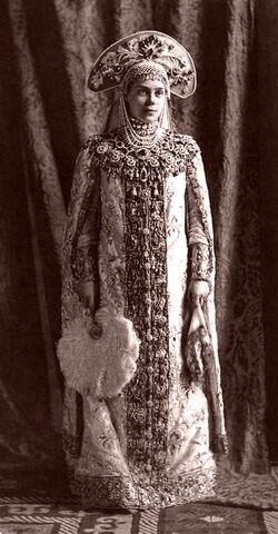 1903 ball - Xenia Alexandrovna of Russia