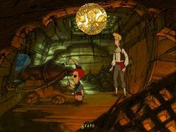 Curse of Monkey Island screenshot