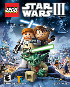 Lego Star Wars III - The Clone Wars Coverart