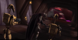 2008 Grievous and his B1s talk on his heroic ship