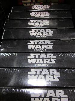 Star Wars Trilogy DVD box set at Costco, SSF ECR