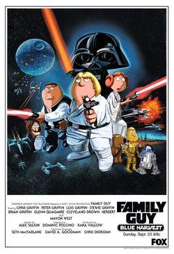 Blue Harvest Family Guy Poster