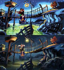 Monkey Island 2 Special Edition Comparison