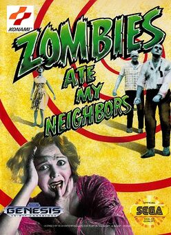 Zombies Ate My Neighbors box