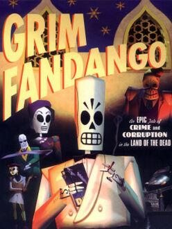 Grim Fandango artwork