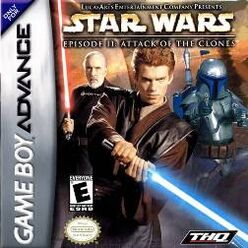 Star Wars Episode II Attack of the Clones GBA cover