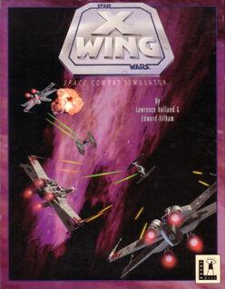 X-Wing - Space Combat Simulator (box cover)
