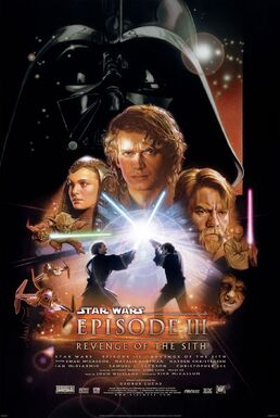 Star Wars Episode III Revenge of the Sith poster
