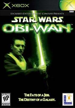 Star Wars Obi Wan x-box cover