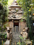 Entrance to the Temple of Doom