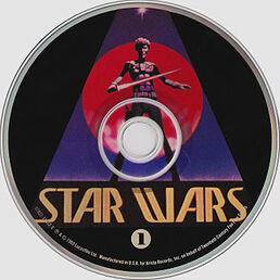 CD cover for disc 1 of the -Star Wars Trilogy; The Original Soundtrack Anthology- CD box-set