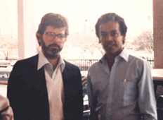George Lucas and Chandran Rutnam