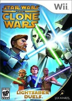 Star Wars The Clone Wars- Lightsaber Duels cover
