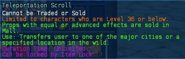 Level 11 5teleportation scrolls pics