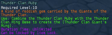 Thunder clan ruby desc