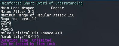 Reinforced short sword of understanding pic