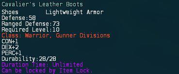 Cavaliers leather boots desc