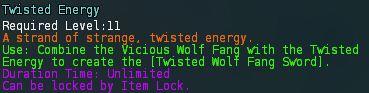 Twisted energy desc