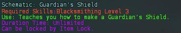 Schematic guardians shield desc