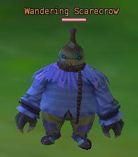 Wandering scarecrow