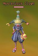 Mysterious clown