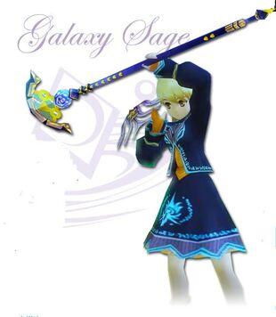 Galaxy saga