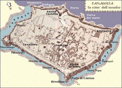 Famagusta - Map