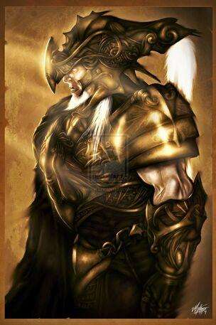 Golden Armor Knight by mlappas (1)