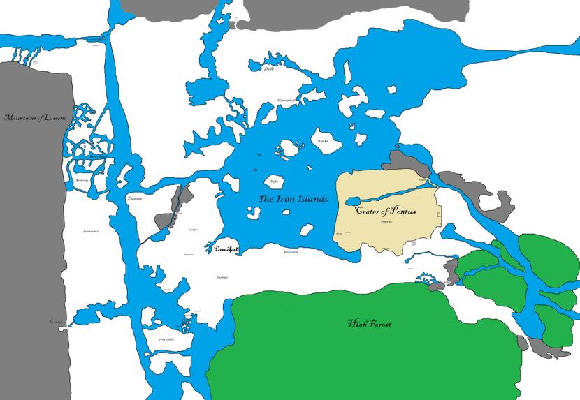 Westros Maps - Smaller