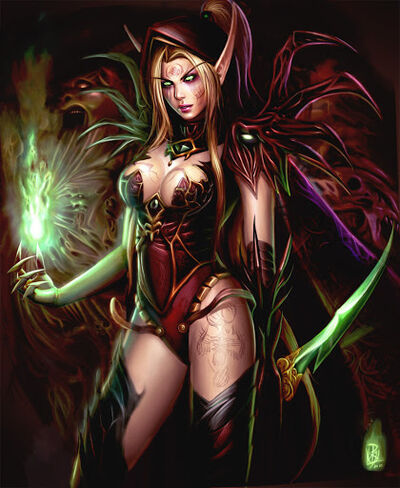 Valeera Saguinar Edited Mag by Shiramune