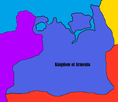 Kingdom of Armenia - Map