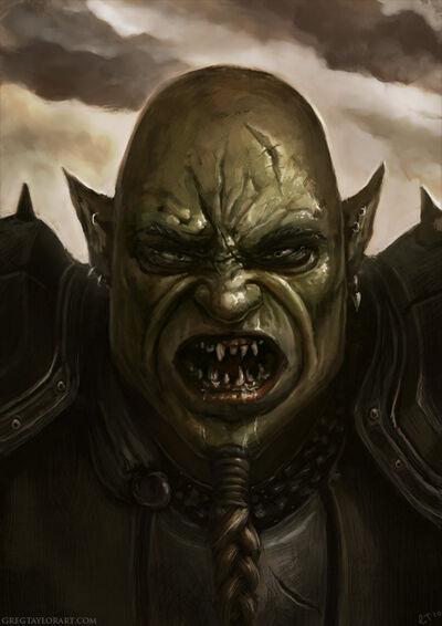 Mordor Orc Commander