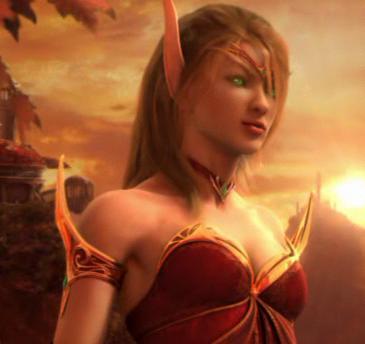 Blood elf maiden