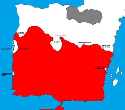 Hispania - Fall of Hispania - The Noose Tightens