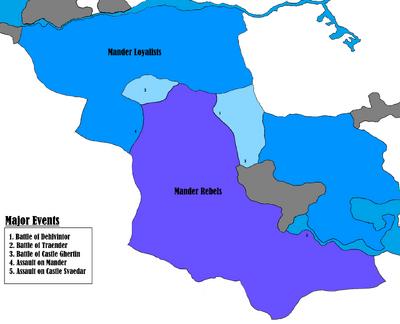 Lucerne - Civil War in Mander - Loyalist Counter Attack
