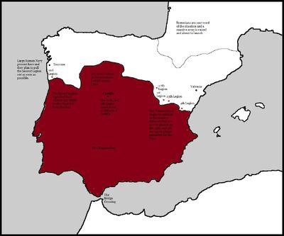 Fall of Hispania Battle of Castille
