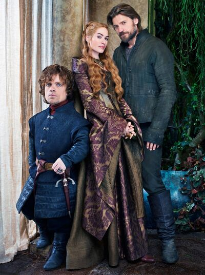 Cersei Lannister, Jamie Lannister, Tyrion Lannister
