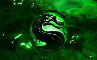 Green Dragon Wallpaper 1440x900 wallpaperhere