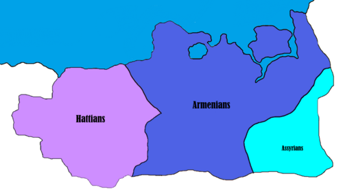 Kingdom of Armenia - Ethnicity