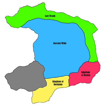 Croatia - Korcani Empire - Internal Politics
