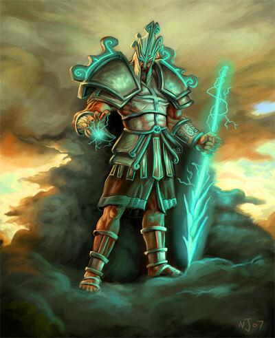 Zeus Cover