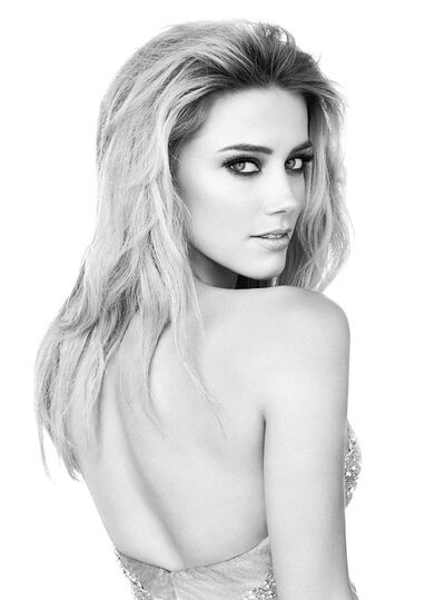 Amber Heard Cover Massive