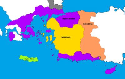 Byzantine Empire - Turkish Rebellion