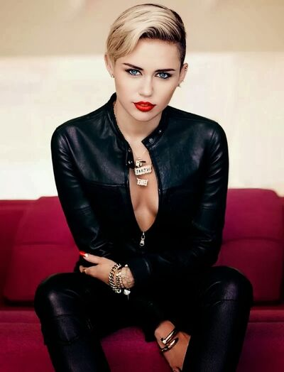 Miley Black Cover Front