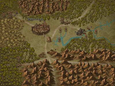Invasion of Westbridge - Siege of Westian