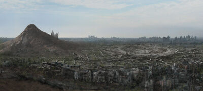 Orleans ruins