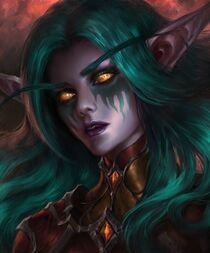 Alleria Windrunner Cover Front Amazing